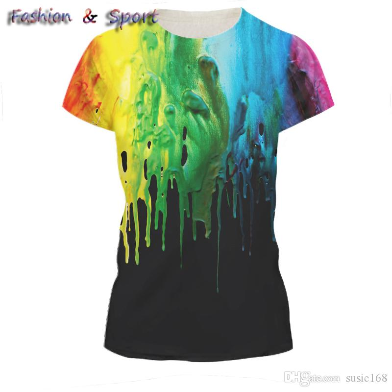 ce469ea8b76 Fashion Summer 3D Men Tees Plus Size Short Sleeve T Shirt Printed Dry FitT  Shirt Digital Designer Clothing M XXL Sports Tshirt Online Tee Shirts  Shopping ...