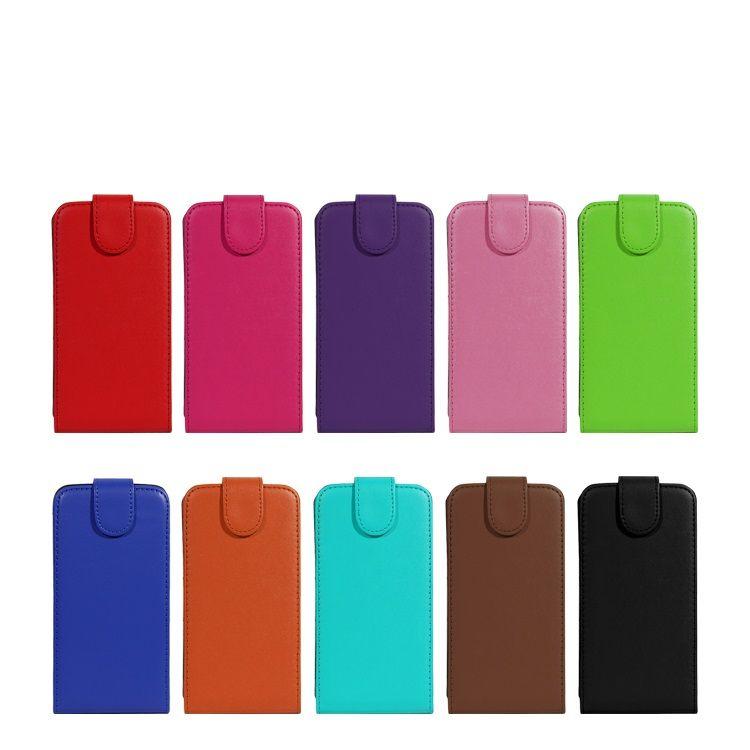 Universal-Mappe PU-Schlag-Leder-Kasten-Kreditkarte zurück Abdeckung für 3,5 bis 5.7inch Handy-Handy