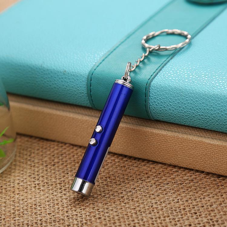 /Box Mini Flashlight Cat Toys Laser Beam for Teasing Cat Strong light Pen LED Flashlights 2in1