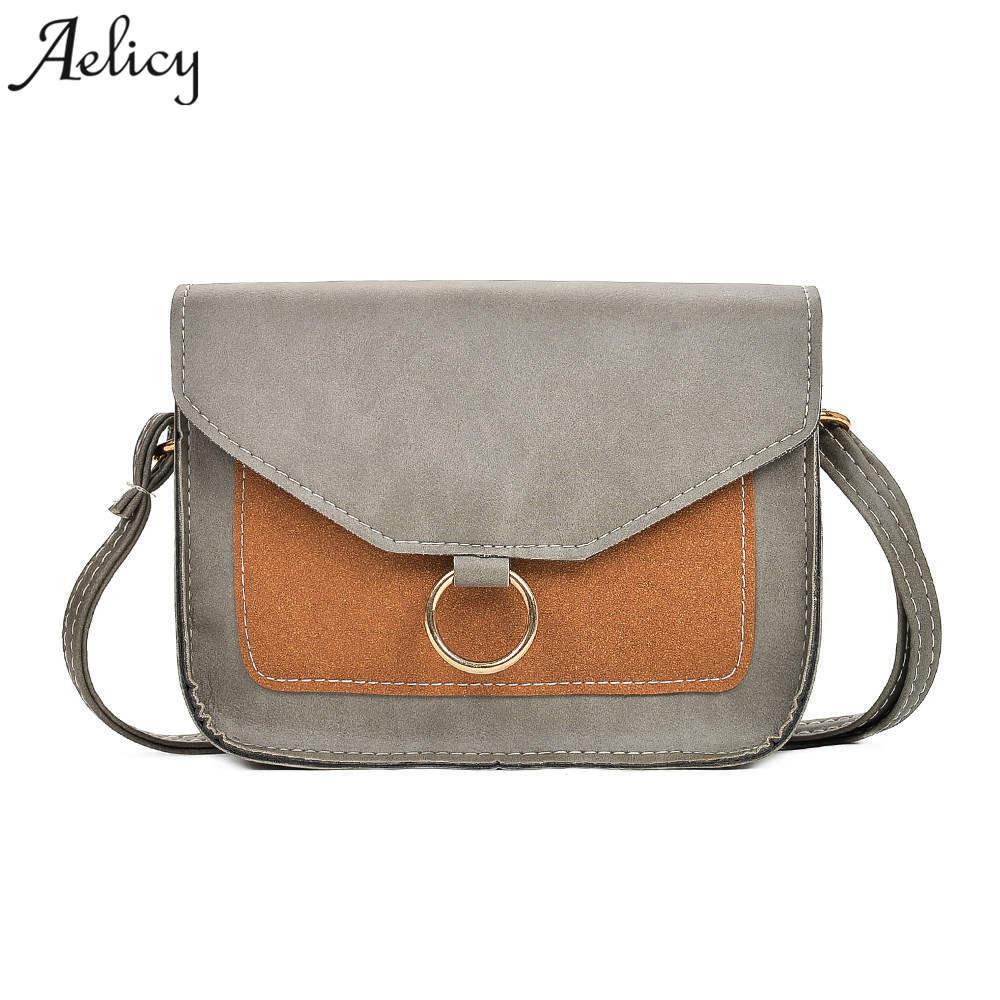 5361ded3c0 Aelicy High Quality Small Ladies Messenger Bags Leather Shoulder Bags Women  Crossbody Bag For Girl Brand Women Handbag Bolsa S Name Brand Purses  Overnight ...