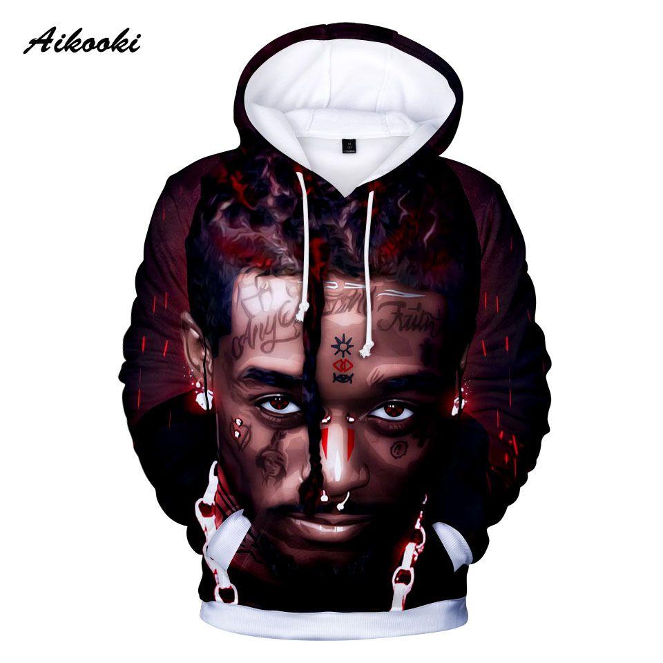 5181efe3abf Aikooki Men s Hoodies 3D Print Rapper Lil Uzi Vert Winter Fashion Men Women  Hoodie Long Sleev Sweatshirt Casual Hip-hop Pullover Hoodies   Sweatshirts  Cheap ...