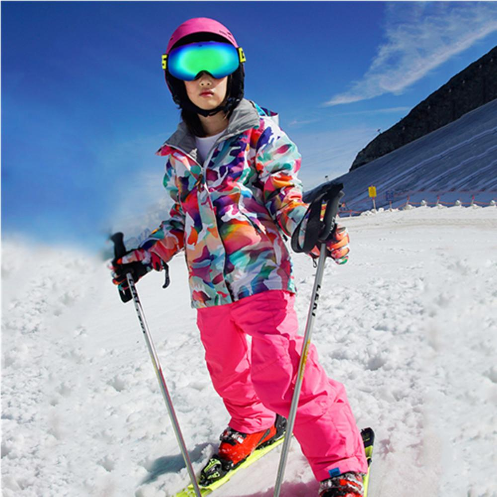 6cfc87d15 2019 2018 Ski Suits Kids Skiing Clothes For Girls Colorful Ski Jacket  Snowboard Wintersport Waterproof Snow Jackets Veste Enfant From  Shanquanwat, ...