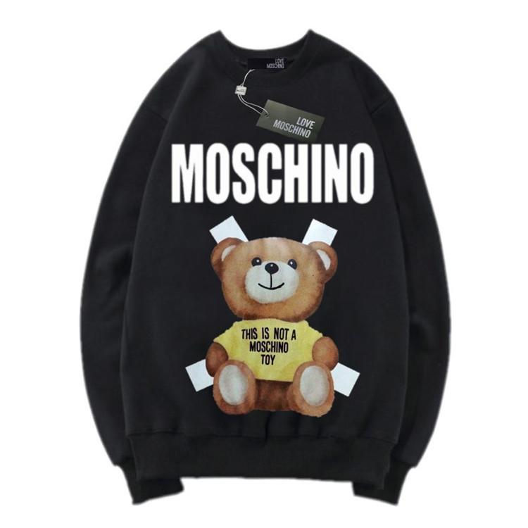 82979b91e01f 2019 Man Autumn And Winter New Pattern Sleeve Head T Shirts Sweater ...