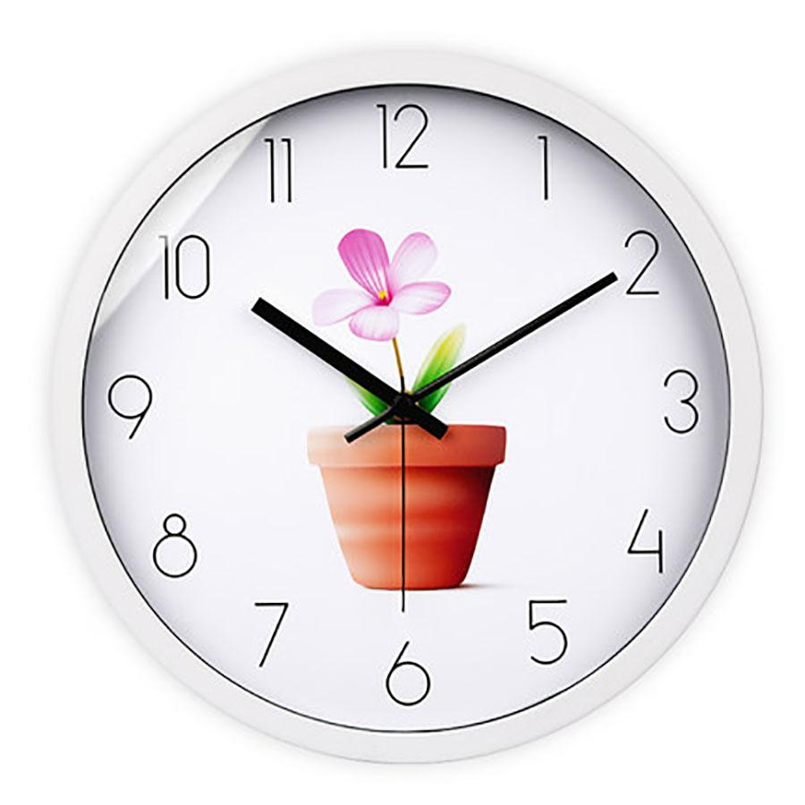 Flower Living Room Wall Clock Creative Large Decorative Wall Clocks Home Decor Duvar Saati Best Selling 2018 Products 50A0073