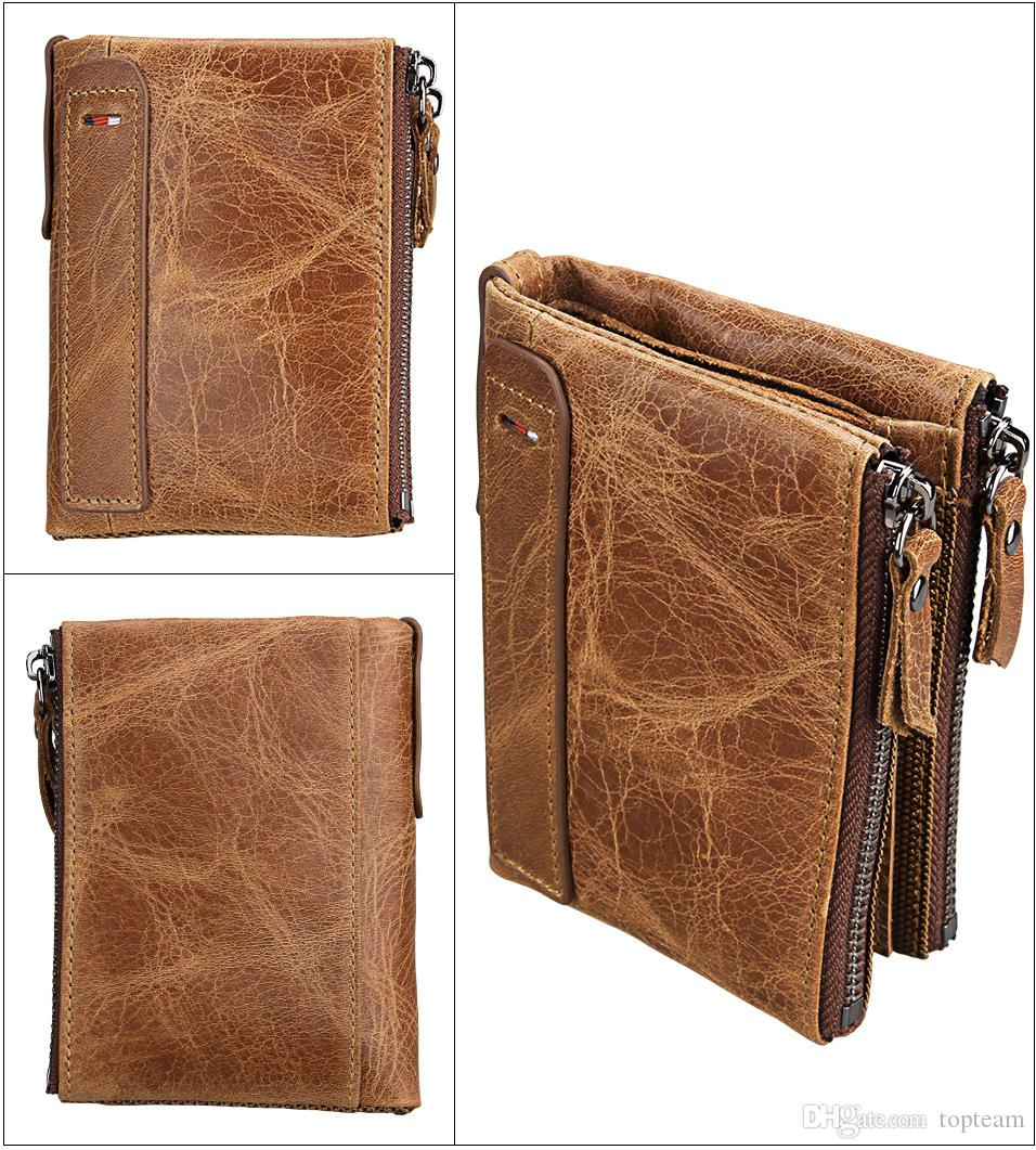 New designer Tote wallet High Quality Leather luxury Men short Wallets for Coin purse Clutch Bags