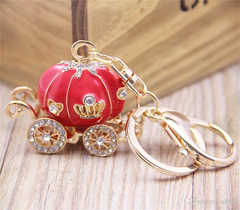 Korean Style Fashion Fattonny Design Keychain Colorful Metal Alloy Key Ring For Lover Couple Creative Pendant Keys Buckle 6mt Z