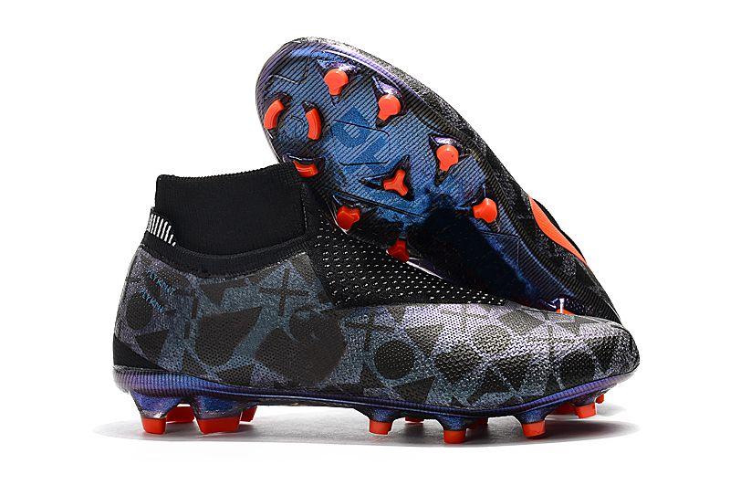 1ce7b7a01e9 Mens High Ankle Football Boots EA Sports Phantom VSN Elite DF FG ...