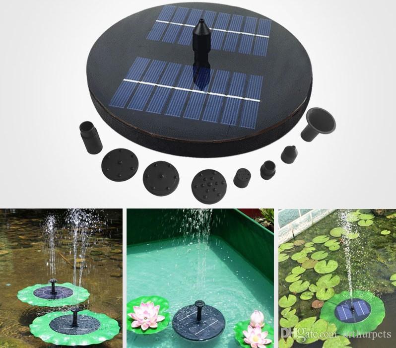 Pumps Solar Power Water Pump Garden Sun Plants Watering Outdoor Water Fountain Pool Pump Decor Drop Shipping