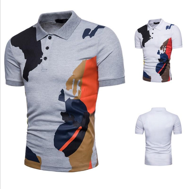 f6c6505d6b New Camo Polo Shirt Men Luxury Polo Shirts Short Sleeve Men s Basic Top  Cotton Polos For Boys Brand Designer Polo Homme Plus Size Online with   26.34 Piece ...