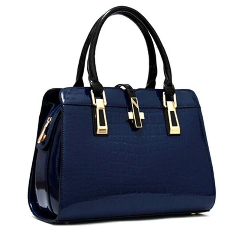 74028e1154d Bag Female New European And American Fashion Handbag Crocodile Pattern Ladies  Shoulder Messenger Bag One Generation Hobo International Wallet Filson  Wallet ...