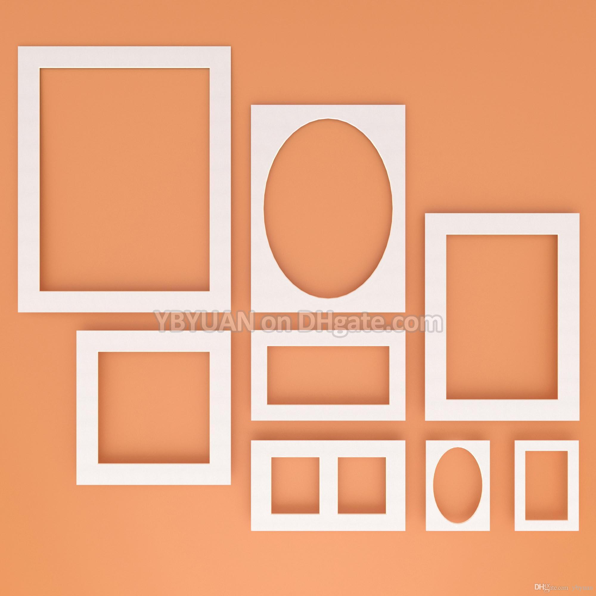 2019 Photo Frame Mat Whiteblack Paper Passe Partouts 12141620