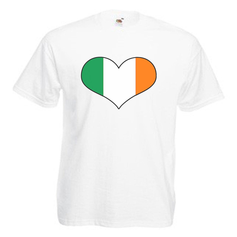 f18d249238c39 Ireland Heart Flag Love Ireland Mens Adult T Shirt T Shirt Site Online Tees  From Moonprinted, $11.01| DHgate.Com