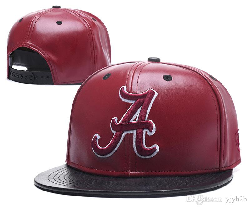 more photos d6731 0c200 ... buy mens alabama crimson tide ncaa snapback hats in red color usa  college letter a logo