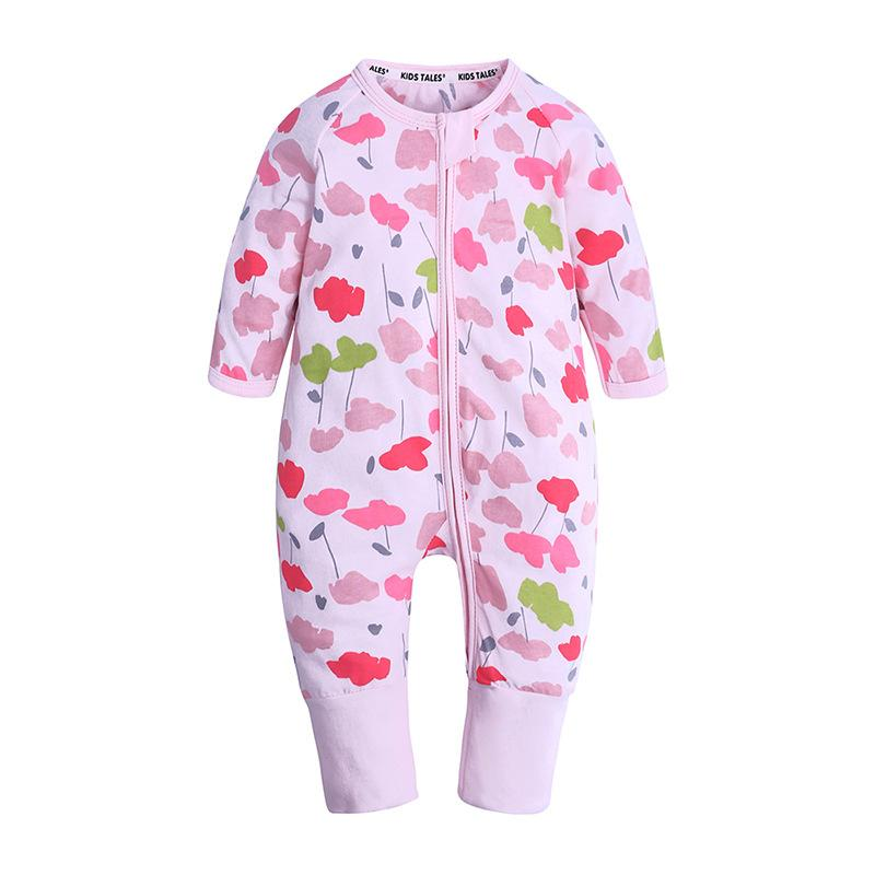 2018 Brand New Lovely Newborn Infant Baby Girl Boy Cotton Romper Striped Long Sleeves Letter Jumpsuit Casual Clothes Sets 0-24m Be Friendly In Use Rompers Mother & Kids