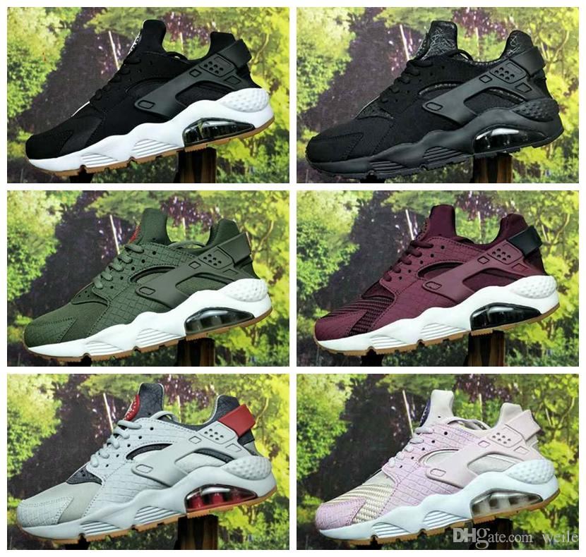huge selection of 720f6 37d2b 2019 Air Huarache ID Custom Running Shoes For Men Women Red Blue Army Green  Tan Huaraches Sneakers Designer Huraches Brand Hurache Trainers 36 45 From  Weile ...