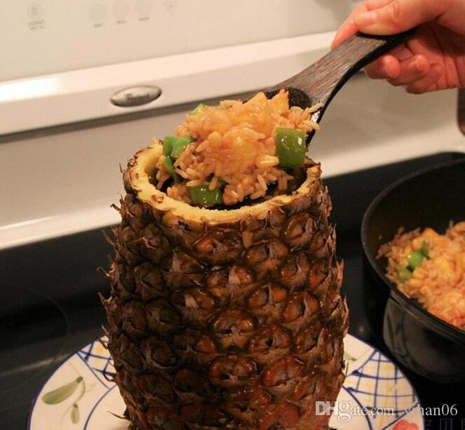 Criativo de Aço Inoxidável Abacaxi Abacaxi Corer Fatiadoras de Cozinha Ferramentas Abacaxi Descascador Parer Faca