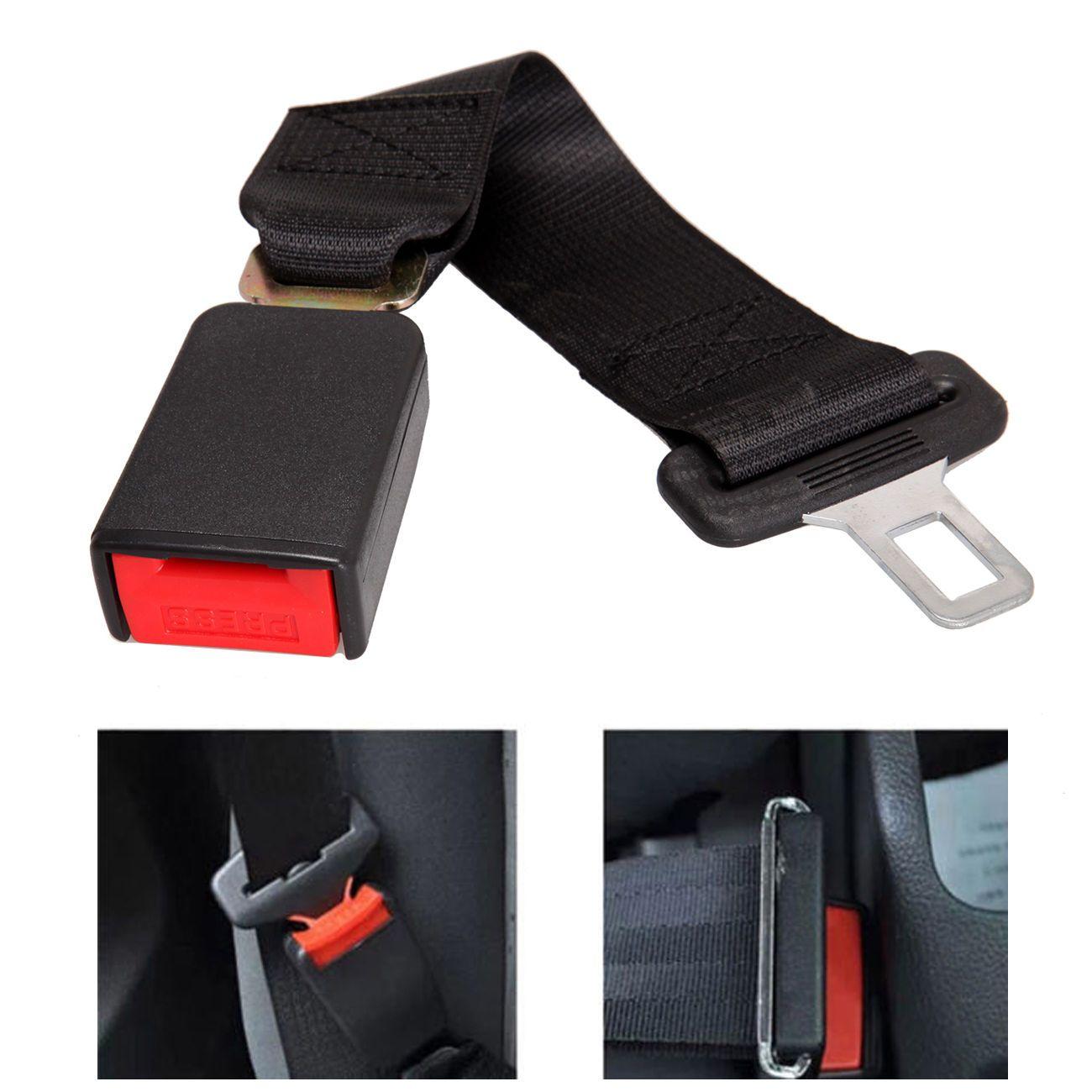 Universal Safety Seat Belt Adjustable Car Auto Safety Seat Belt Clip  Seatbelt Extension Extender Strap Buckle Safety Belts GGA980