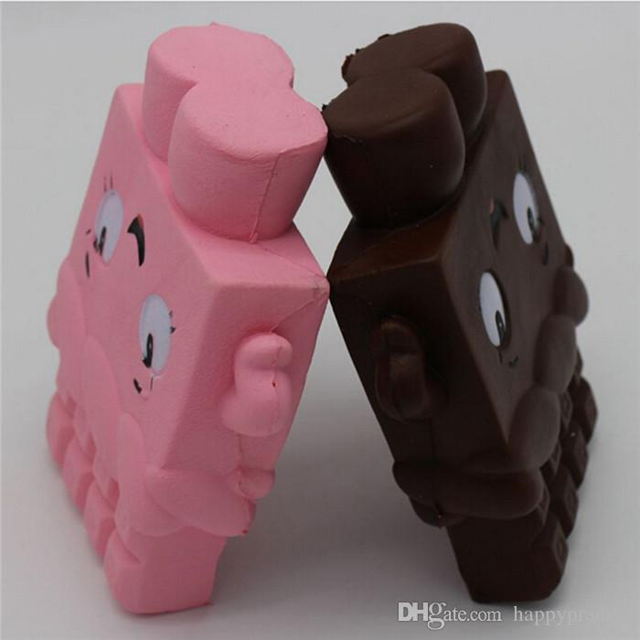 New 13cm Jumbo Chocolate Boy Girl Squishy Cream Scented Pendant Soft Slow Rising Kids Gift Toy Moblie Phone Straps