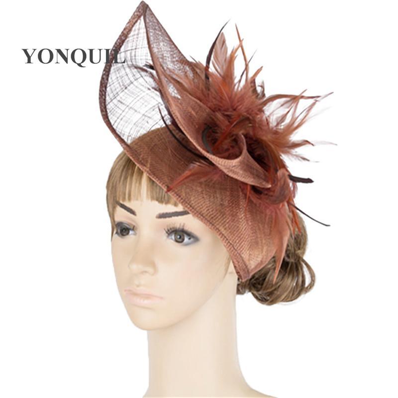 2019 Classic Multiple Color Fascinator Big Headwear Wedding Millinery  Headwear Party Headpiece Wedding Hats TMYQ032 From Pulchritudinous 8b79e5a8b97