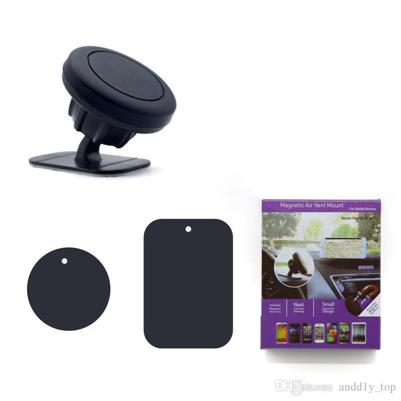 Standı Ile Manyetik Araç Telefonu Tutucu Pano Montaj Mıknatıs Telefon Desteği Yapıştırıcı Ile Evrensel Cep Telefonu Için