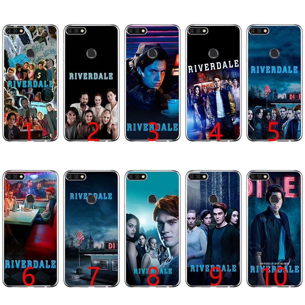 premium selection bf8c4 3b757 Archie Betty Veronica Riverdale Soft Silicone Phone Case for Huawei P8 P9  Lite 2015 2016 2017 P10 20 Lite P Smart