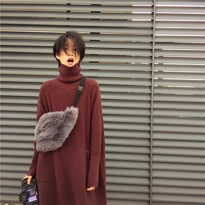 Women s Handbags Furry Bag Faux Fur Shoulder Crossbody Bags Autumn ... 06e26b400962c