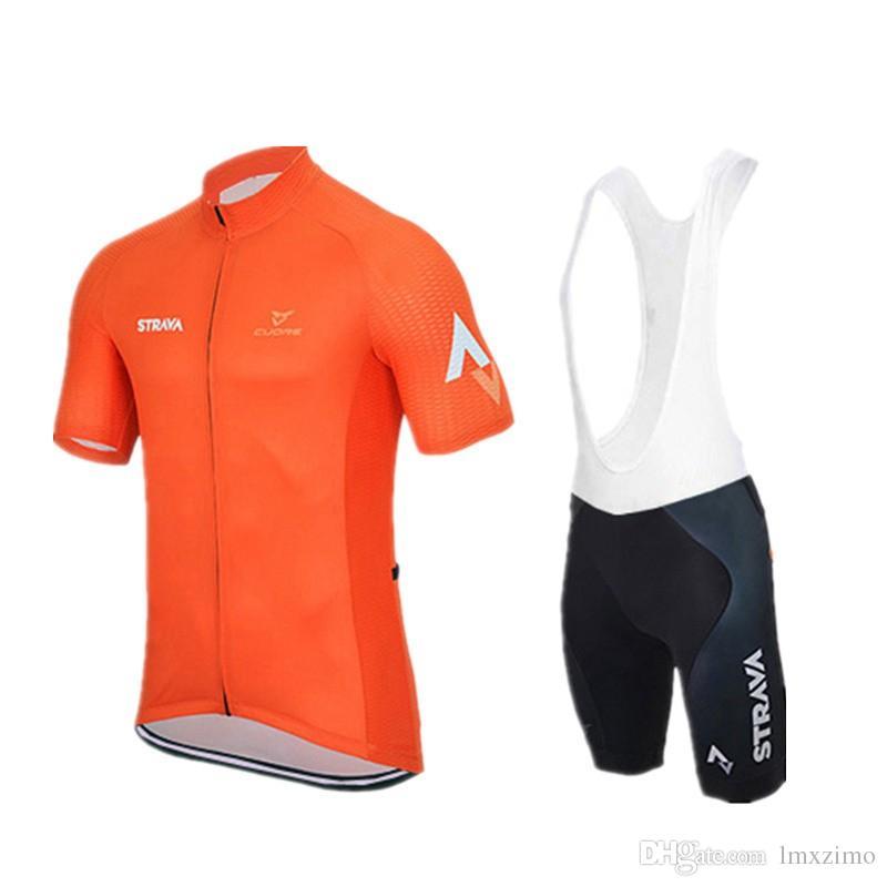 Strava Radfahren Trikots Ropa Ciclismo Atmungsaktive Fahrradbekleidung Quick-Dry Fahrrad Sportwear Ropa Ciclismo GEL Pad Schwarze Fahrradhose