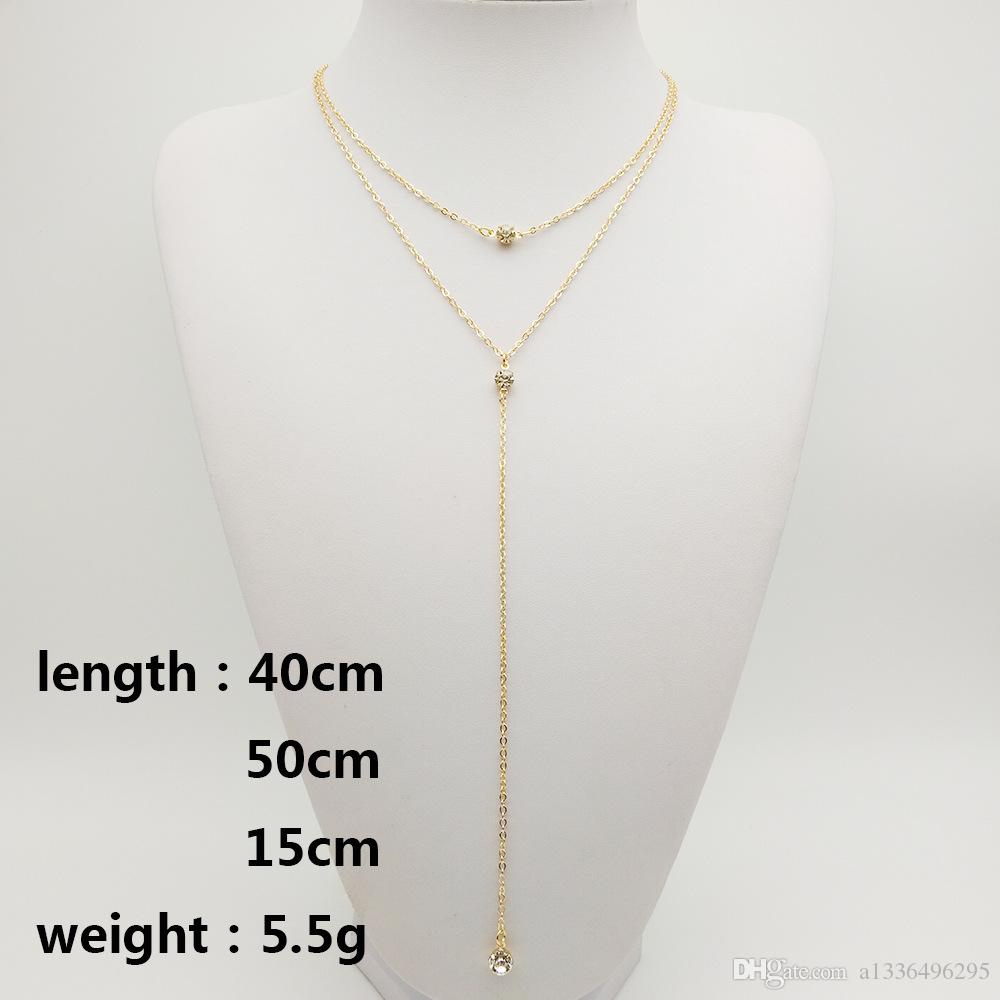 Brand New alloy high quality fashion pendent necklace womens wholesale collocation party small fresh jewelery c10