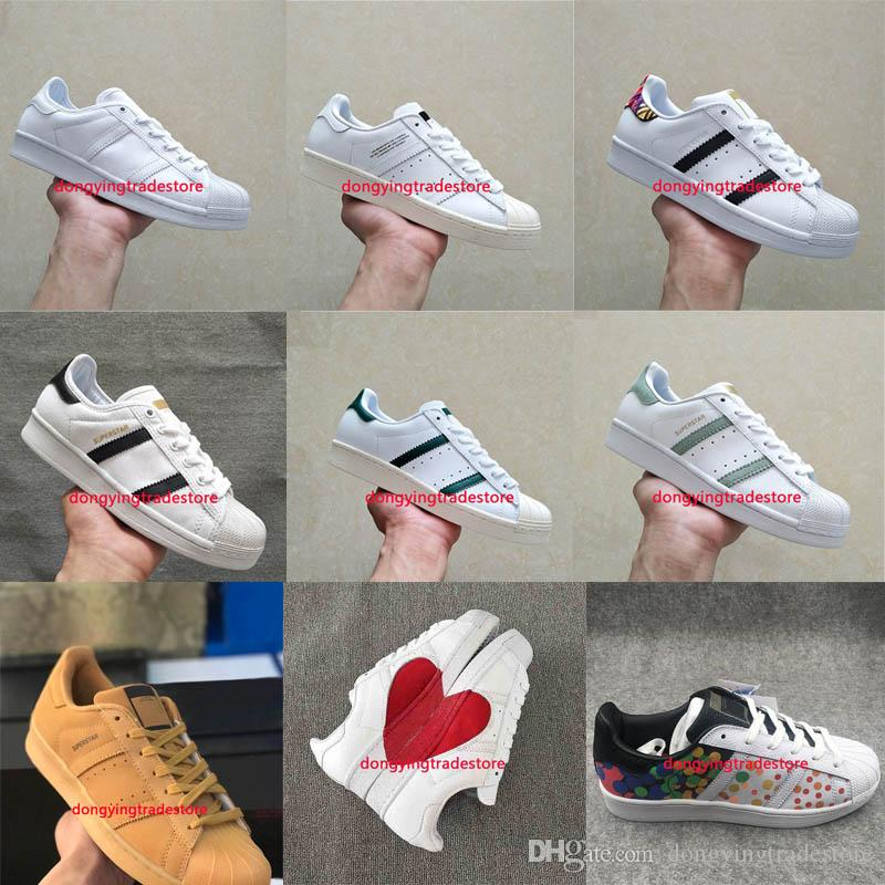 Hot 2018 Fashion Mens Casual Shoes Super stars Female Flat Shoes Women Zapatillas Deportivas Mujer Lovers Sapatos Femininos for men footaction buy cheap excellent free shipping new arrival original low shipping fee cheap price MiTF3