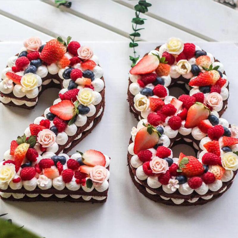 Grosshandel Formen Fur Kuchen Kunststoff Alphabet Anzahl Kuchen