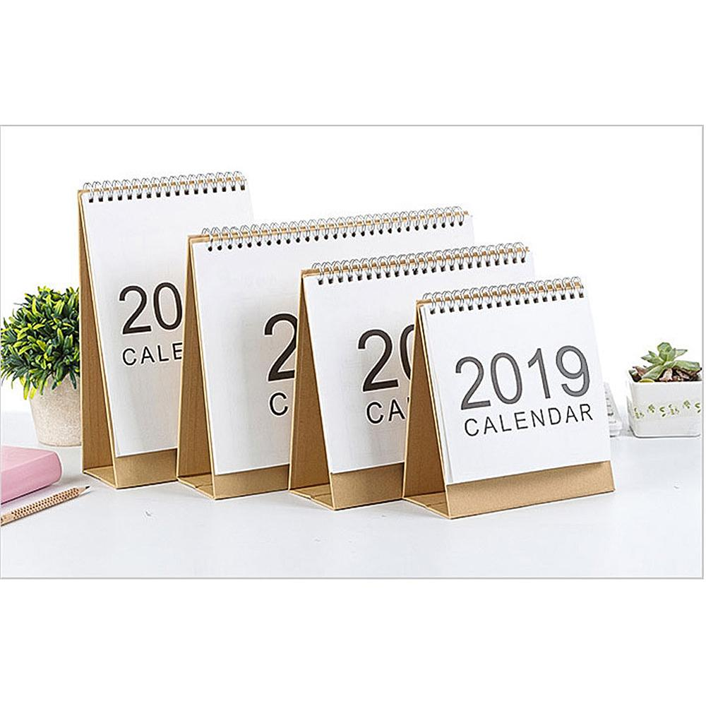 1pc 2019 Creative Cartoon Calendar Table Calendar Weekly Monthly Planner To Do List Table Calendar For Fast Shipping Calendar