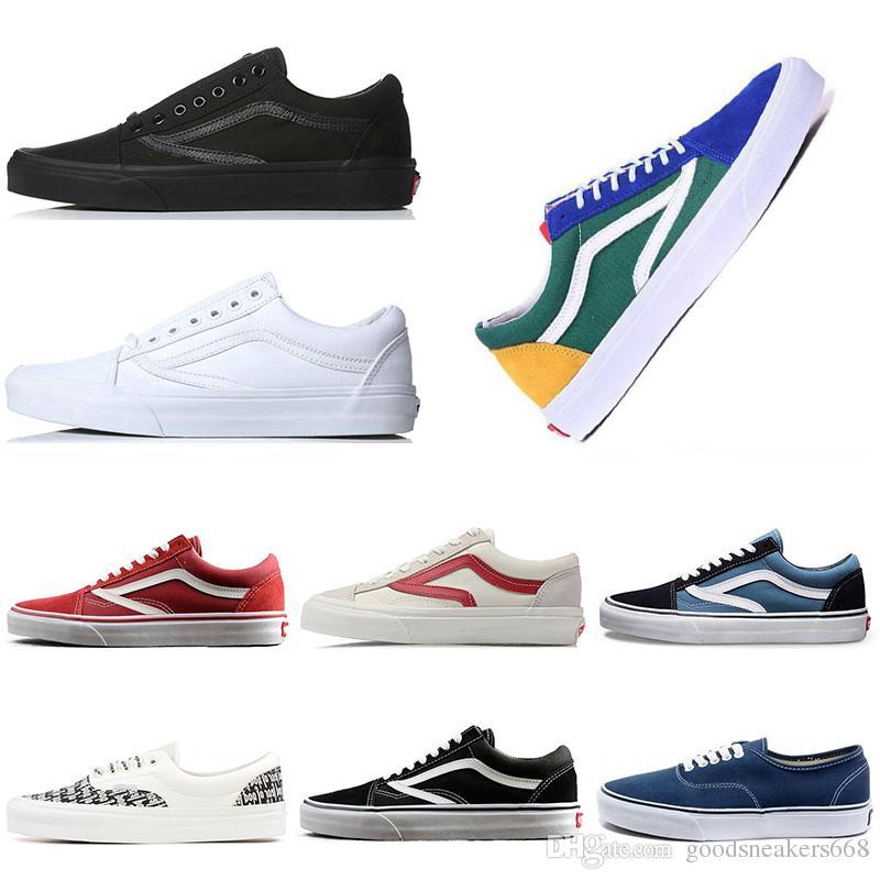 best value 02e39 e4791 Compre Nuevos Modelos Zapato De Lona VNS Clásico Skool Zapatillas De Skate  Clásicas Para Los Amantes De La Moda Hombre Nuevo Deportivo Zapatillas De  Deporte ...
