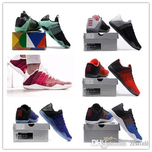 09c1c00dffb NEW High Quality Kobe 11 Elite Men Basketball Shoes Kobe 11 Red Horse Oreo  Sneakers KB 11 Sports Sneakers With Shoes Box KB 11 Basketball Shoes 11  KOBE 11 ...