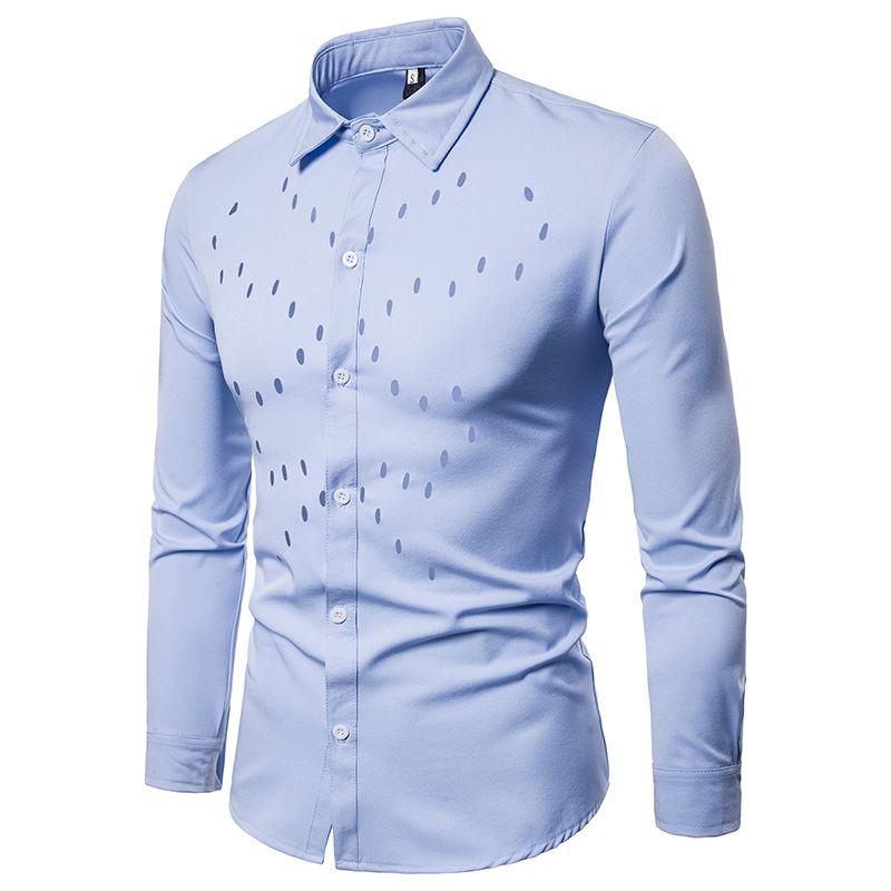 f25c065a64 Compre Tuxedo Camisa Estilos 2018 Camisa Social Masculina Algodão Marca  Camisa 6 Cores Chemise Homme Francês Slim Fit Em Camisas Dos Homens De  Fullcolor