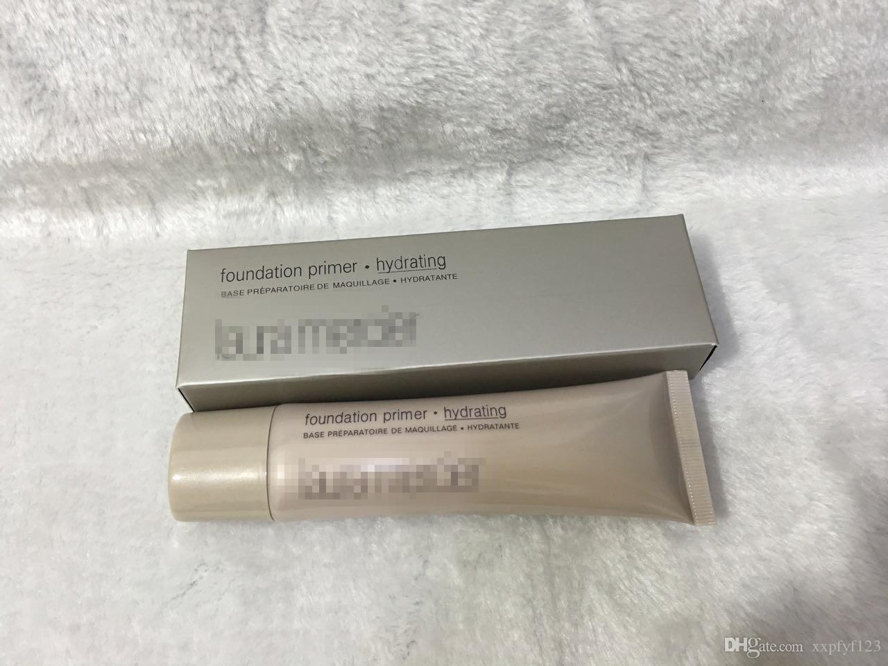 2018 Laura Mercier Foundation Primer / Base Hidratante / Mineral / Sin Aceite 50ml 4 estilos Maquillaje de Cara de Alta Calidad 6 Estilos SPF 30 Base 50ml Cara