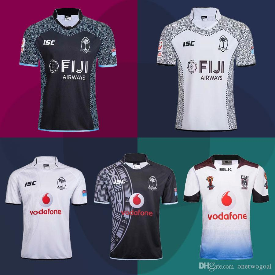 timeless design 6e90d 956aa High Quality 2018 New FIJI National Rugby Jerseys 2019 rugby world cup  league shirts 2017 World Champions Rugby League Fiji Custom Tops