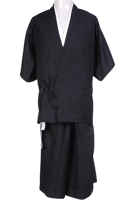cosplay costume bleach death god shinigami kimono adult costume