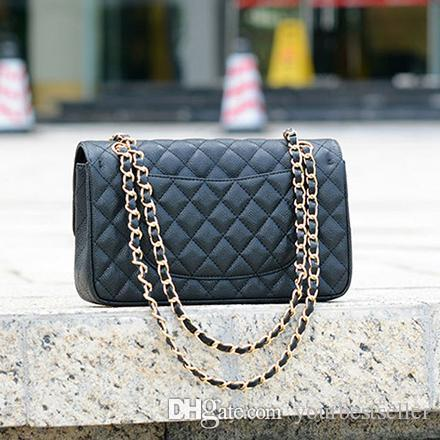 19b88a5ed4 Cheap Luxury Women s Classic Handbag Quilted Double Flap Bag Purse 1112  Female Genuine Leather Chain Shoulder Crossbody Messenger Bags