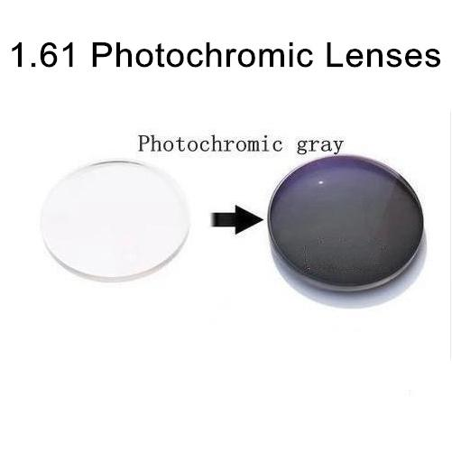 fe2297a110 1.61 Aspheric Photochromic Lenses Sunglasses Lens with Degree Single ...