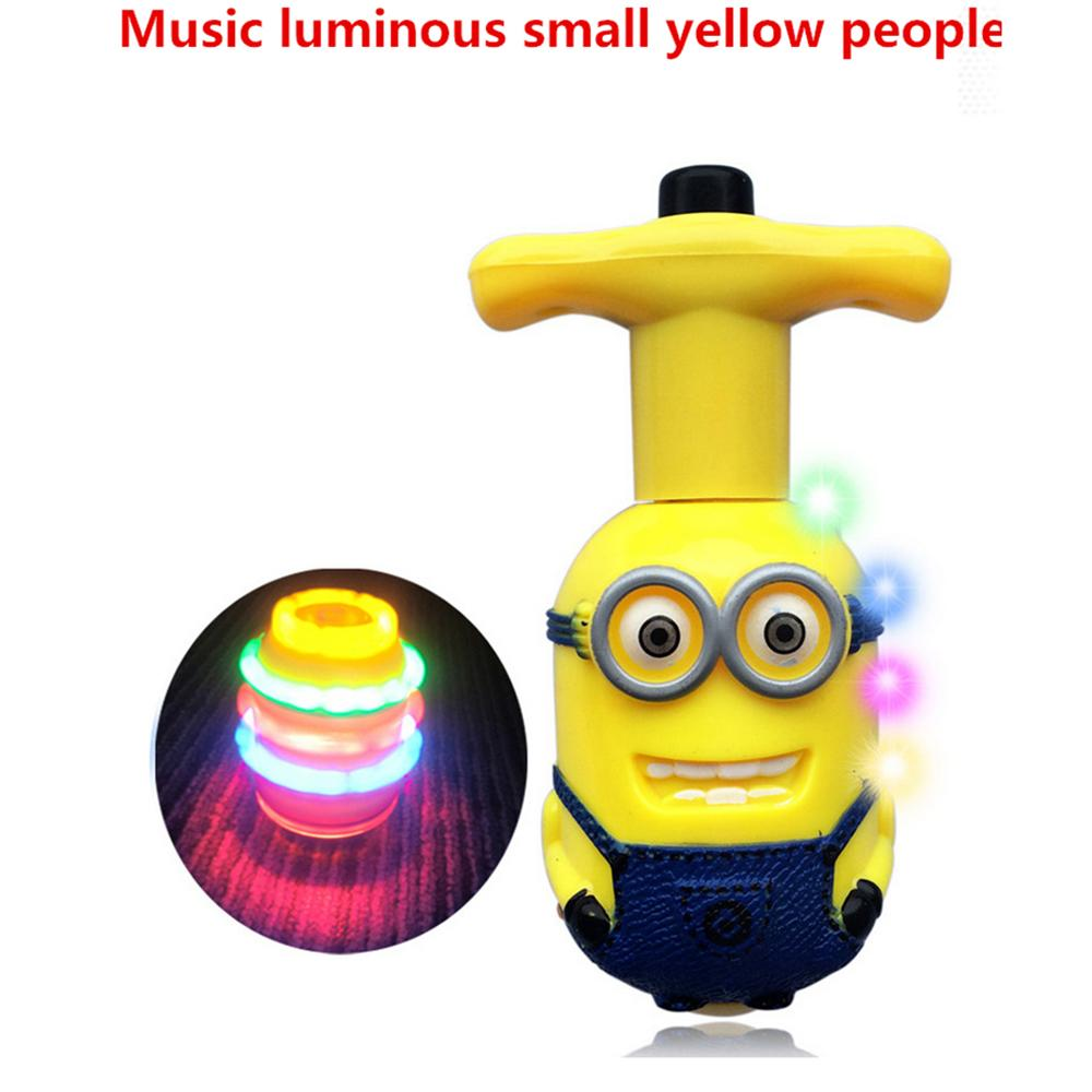spinner peg top minions gyro classic toy metal beyblade pieces laser flashing with music spinning top christmas gift spinning top song spinning top gif from - Minions Christmas Song