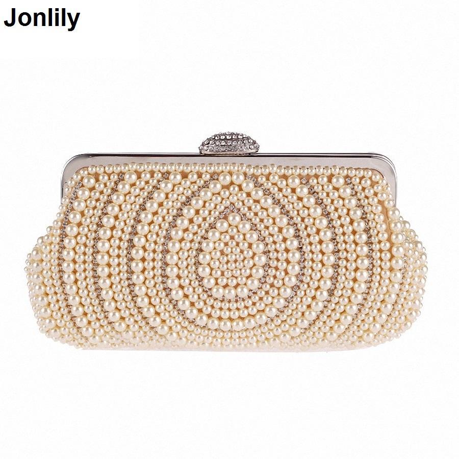 419443e7b Compre Frisado Sacos De Noite Mulheres Diamantes Embreagens Dia Dia  Embreagem Pequenas Bolsas Bolsas Femininas Pérola Sacos De Festa De  Casamento Li 1808 De ...