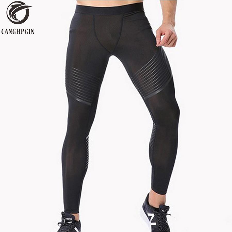 Compre 2018 Pantalones De Compresión Para Hombres Medias De Running Hombres  Joggers Footing Leggins Deportivos Ajustados Gimnasio Pantalones Deportivos  De ... 08fabf9ff3a5