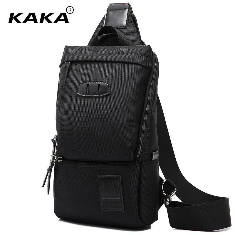 b4484cd9a39e 2017 KAKA Brand Designer Men Messenger Bags Korean Style Women Single Nylon  Waterproof Chest Bags Cross Body Packs Shoulder Bags Handbags Brands Luxury  ...