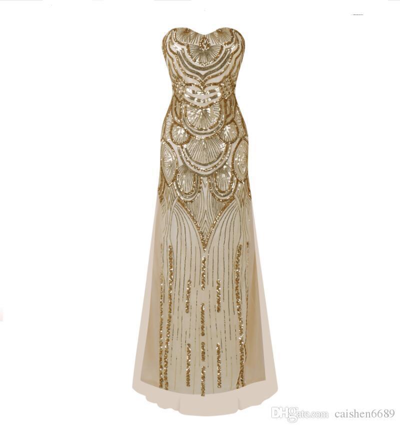 Weddings & Events Kostenloser Versand Robe De Soiree 2018 Neue Mode-hot & Sexy Bandage Vestido De Festa Partei Elegante Robe De Soiree Brautjungfer Kleider