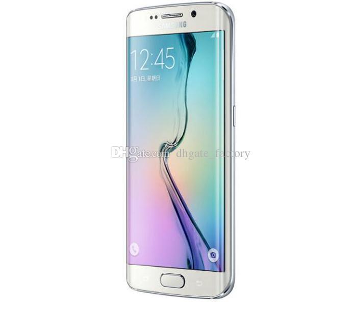 Original 5.1inch Samsung Galaxy S6 S6 edge 4G Android 5.0 G925A G925T G925V G925P G925F Octa Core 3GB/32GB Unlocked Mobile Phone Free Ship