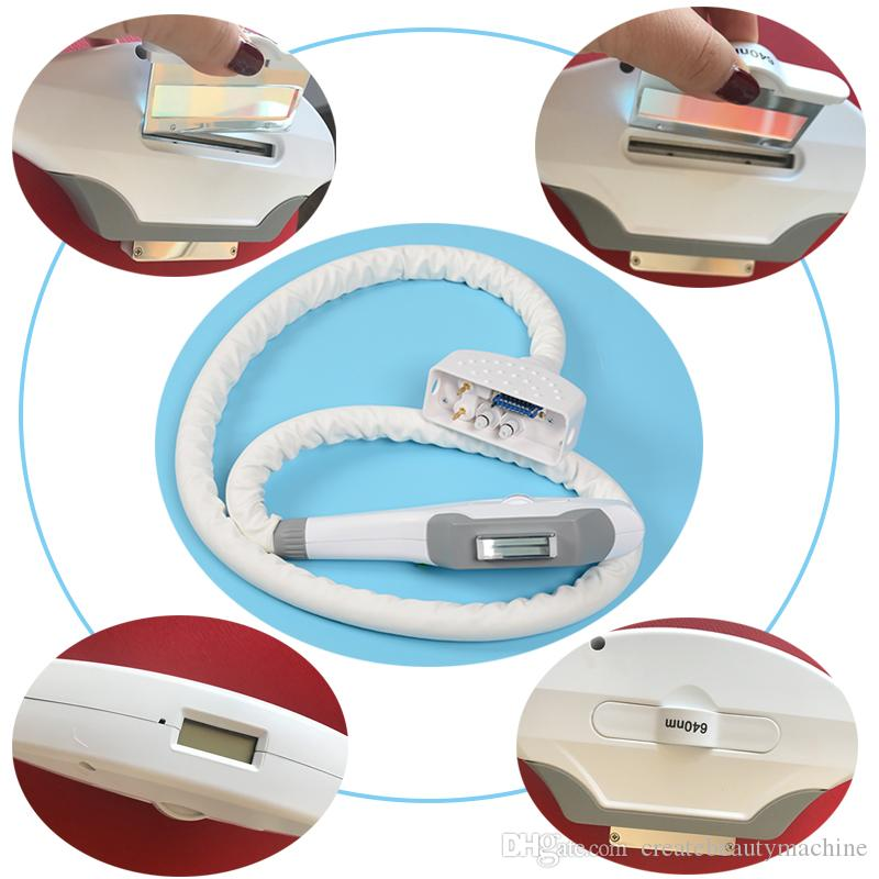 Two system OPT E-Light laser hair removal multifunction machine with UK imported ipl flash xenon lamp