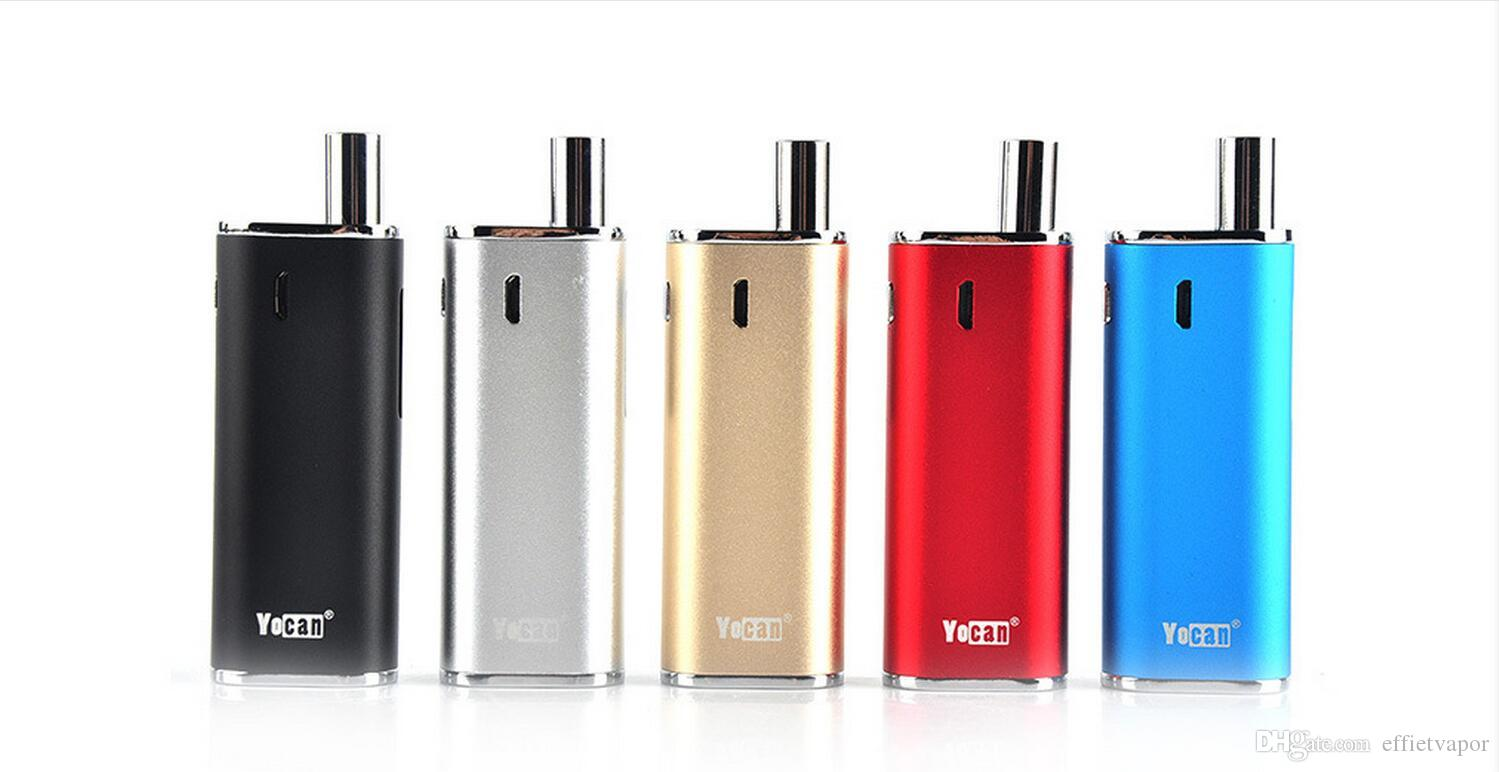Newest Yocan Hive kit & Yocan Hive 2.0 kit 2 in 1 vaporizer kit With 650mah Wax Oil Atomizer vape pen Box Mods