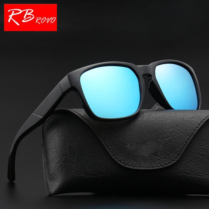 c2363e47e6 RBROVO 2018 Polarized Square Sunglasses Women Men Classic Vintage Sun  Glasses Shopping Party Lunette Soleil Homme HD UV400 Cheap Eyeglasses  Online ...