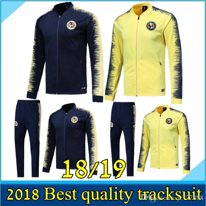9055f7fe16f 2019 18 19 Mexico LIGA MX Club America Soccer Jerseys Jacket 2018 2019 Club  Spot America Soccer Jacket Suits Football Jacket From Jc777888, $25.08    DHgate.
