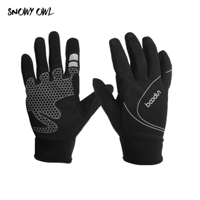2018 New Men Women Outdoor Sports Gloves Warm Windproof Cycling ... dc06e0e3eb
